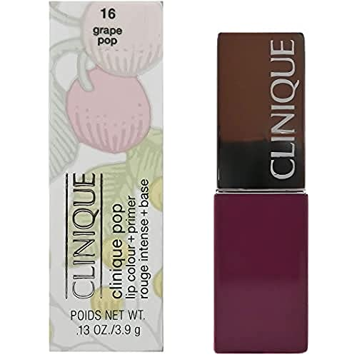 Clinique Pop Lip Colour and Primer Lipstick for Women Number 16, Grape Pop 3.90 g from Clinique