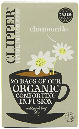 (2 Pack) - Clipper - Organic Chamomile | 20 Bag | 2 PACK BUNDLE from Clipper