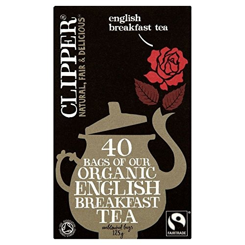 (3 PACK) - Clipper English Breakfast| 40 Bags |3 PACK - SUPER SAVER - SAVE MONEY from Clipper