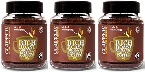(3 PACK) - Clipper - Ft Org Rich Roast Coffee | 100g | 3 PACK BUNDLE from Clipper