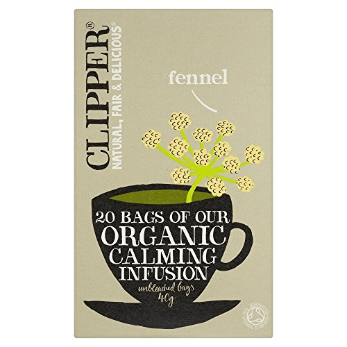 (Pack Of 10) - Organic Infusion Fennel Herbal Tea | CLIPPER from Clipper