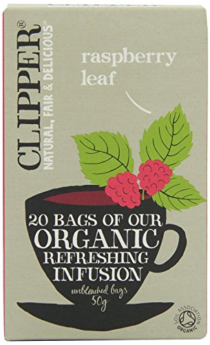 Clipper Organic Raspberry Leaf Tea 20bags (Pack of 1) from Clipper