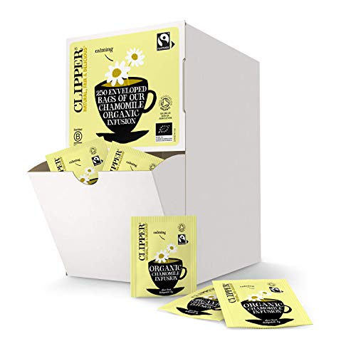 Clipper Organic Fairtrade Infusion Chamomile Enveloped 250 Teabags 375 G from Clipper