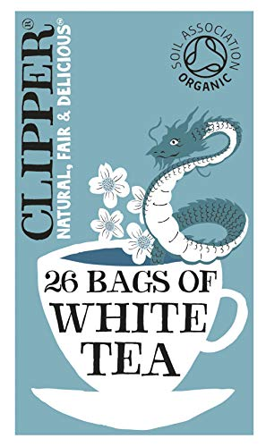 Clipper Organic White 26 Teabags (Pack of 6, Total 156 Teabags) from Clipper Teas Ltd