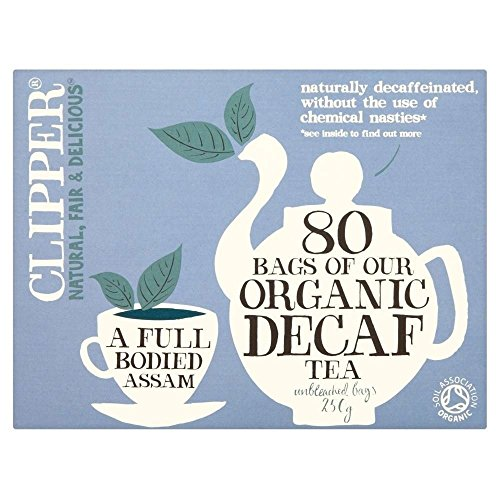 Org Decaf Everyday Tea (80 Bag) - x 3 Pack Savers Deal from Clipper