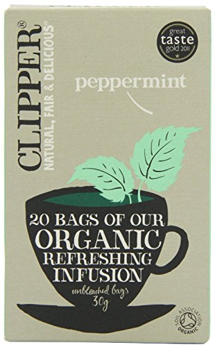Organic Peppermint (20 Bag) - ( x 5 Pack) from Clipper