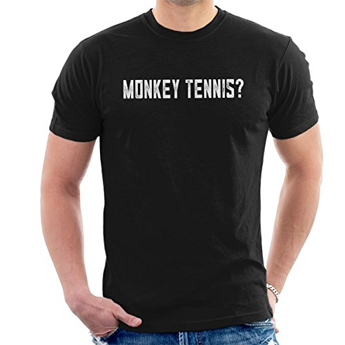 Alan Partridge Monkey Tennis Men's T-Shirt from Cloud City 7