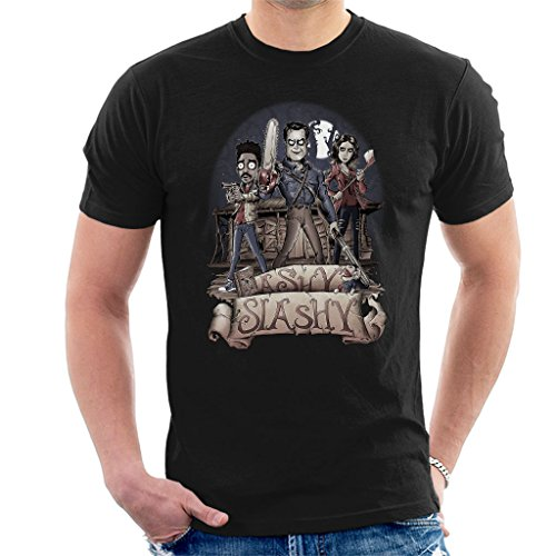 Ashy Slashy Ash Vs Evil Dead Men's T-Shirt from Cloud City 7