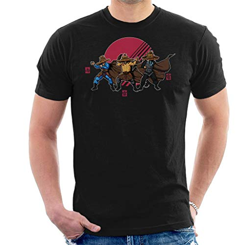 Big Trouble in Little China Straw Hats Men's T-Shirt Black from Cloud City 7