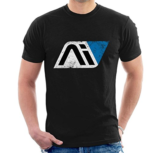 Mass Effect Andromeda Initiative Men's T-Shirt Black from Cloud City 7