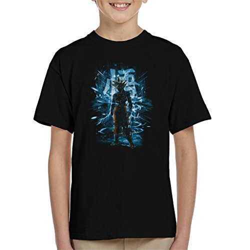 Dragon Ball Z Goku Ultra Instinct Storm Kid's T-Shirt from Cloud City 7