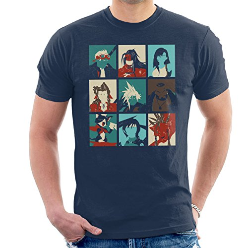 Final Fantasy 7 Pop Art Men's T-Shirt from Cloud City 7
