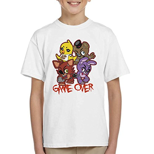 Five Nights At Freddys Characters Kid's T-Shirt from Cloud City 7
