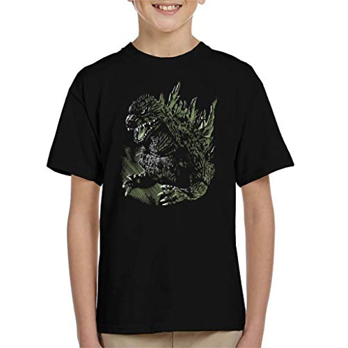 Godzilla Japanese Style Kid's T-Shirt from Cloud City 7