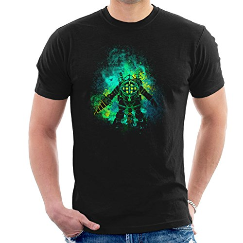 Rapture Art Big Daddy Little Sister Bio Shock Men's T-Shirt from Cloud City 7