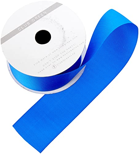 Club Green Grosgrain Ribbon Royal Blue 38MMX10, Fabric, 12.1 x 12.1 x 3.08 cm from Club Green