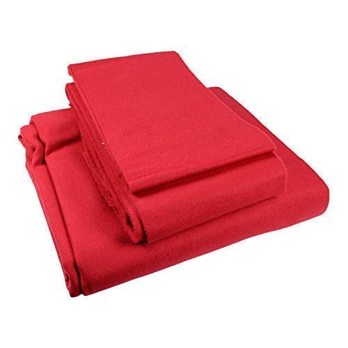 Speed Pool Cloth, 7 x 4 Bed & Cushions, Red from ClubKing Ltd