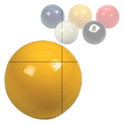 "Yellow Pool Ball 2"" from ClubKing Ltd"