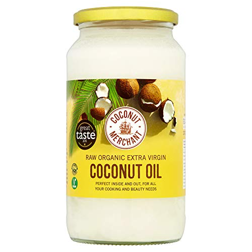 1 Litre Coconut Merchant Organic Raw Extra Virgin Coconut Oil from Coconut Merchant