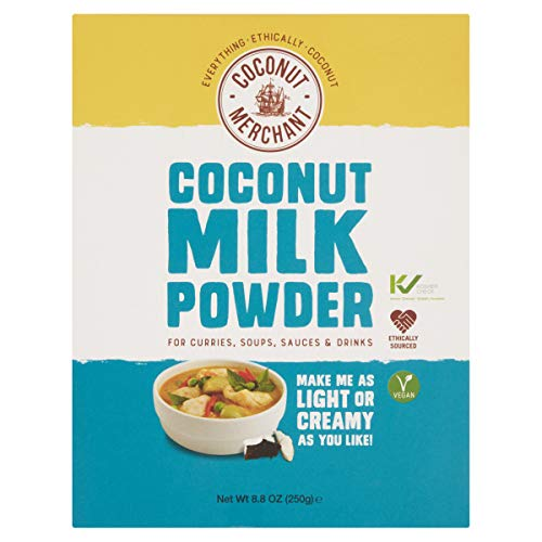 COCONUT MERCHANT Coconut Milk Powder 250g (PACK OF 1) from Coconut Merchant