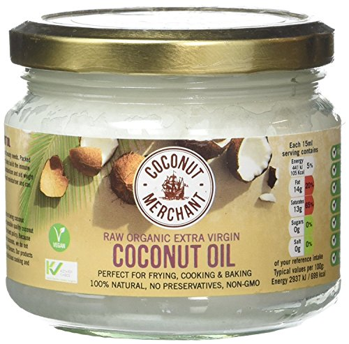 Coconut Merchant Organic Raw Extra Virgin Oil 300ml (Pack of 2) from Coconut Merchant
