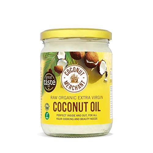 Coconut Merchant Organic Coconut Oil 500mL | Extra Virgin, Raw, Cold Pressed, Unrefined | Ethically Sourced, Vegan, Ketogenic and 100% Natural - 500mL from Coconut Merchant
