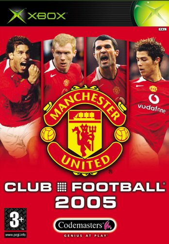 Club Football: Manchester United 2005 (Xbox) from Codemasters