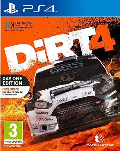 Dirt 4 Day One Edition (PS4) from Codemasters