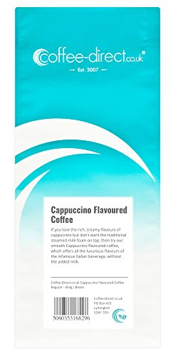 Coffee Direct Cappuccino Flavoured Coffee Beans 454 g from Coffee Direct
