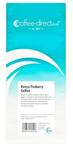 Coffee Direct Kenya Peaberry Coffee Beans 908 g from Coffee Direct