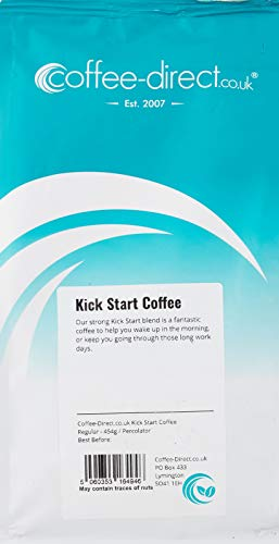 Coffee Direct Kick Start Coffee Percolator Grind 454 g from Coffee Direct