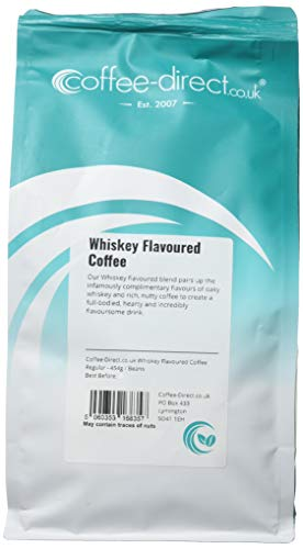 Coffee Direct Whiskey Flavoured Coffee Beans 454 g from Coffee Direct