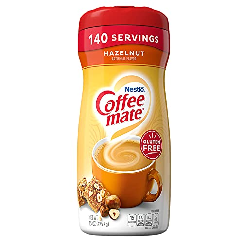 Nestle Coffee Mate Hazelnut 425g 150z from Coffee-Mate