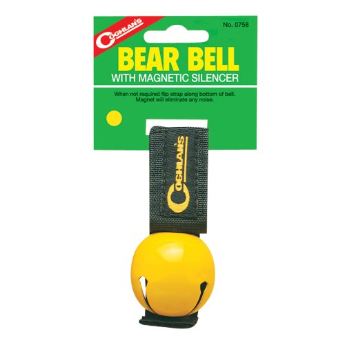 Coghlan's Unisex's C0758 Magnetic Bear Bell, Yellow, One Size from Coghlan's