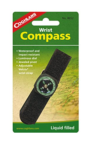 Coghlans Wrist Compass - Black from Coghlans