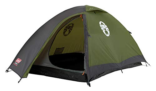 Coleman Weatherproof Darwin Unisex Outdoor Dome Tent available in Green - 2 Persons from Coleman