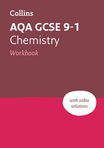 AQA GCSE 9-1 Chemistry Workbook (Collins GCSE 9-1 Revision) from Collins