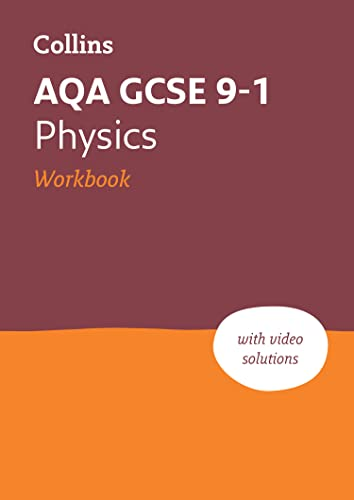 New Grade 9-1 Physics AQA Workbook (Collins GCSE 9-1 Revision) from Collins