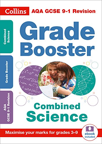 AQA GCSE 9-1 Combined Science Trilogy Grade Booster for grades 3-9 (Collins GCSE 9-1 Revision) from Collins