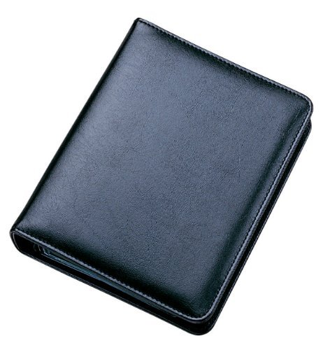 Collins Business Card Ringbinder - Black from Collins