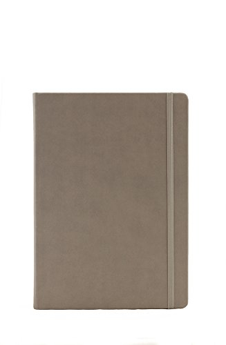 Collins Legacy A5 Hard Cover Notebook, 240 80gsm Ruled Pages - Grey Cover from Collins