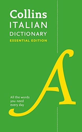 Italian Essential Dictionary: Bestselling bilingual dictionaries (Collins Essential) (Collins Essential Dictionaries) from Collins