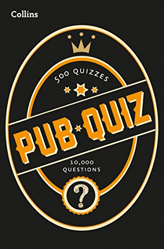 Collins Pub Quiz: 10,000 easy, medium and difficult questions (Quiz Books) from HarperCollinsPublishers