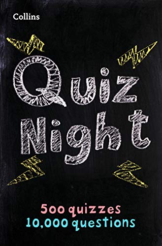 Collins Quiz Night: 10,000 original questions in 500 quizzes (Quiz Books) from Collins
