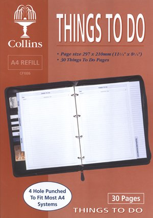Collins Things To Do Conference Folder Refill - CF1006 from Collins
