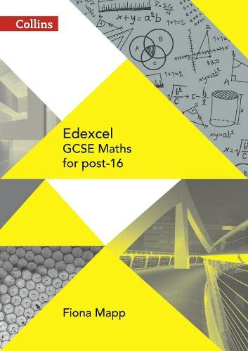 Edexcel GCSE Maths for post-16 (GCSE for post-16) from Collins