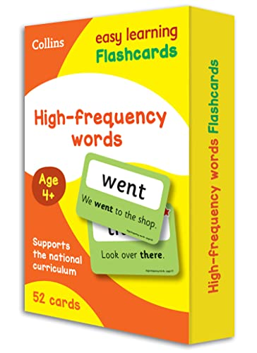 High Frequency Words Flashcards (Collins Easy Learning KS1) from Collins