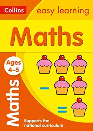 Maths Ages 4-5: New Edition (Collins Easy Learning Preschool) from HarperCollins Publishers