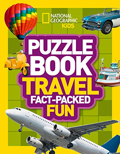 Puzzle Book Travel: Brain-tickling quizzes, sudokus, crosswords and wordsearches (National Geographic Kids Puzzle Books) from Collins