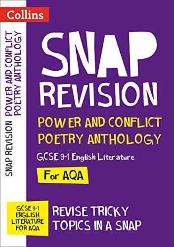 Power & Conflict Poetry Anthology: New GCSE Grade 9-1 AQA English Literature (Collins Snap Revision) from Collins